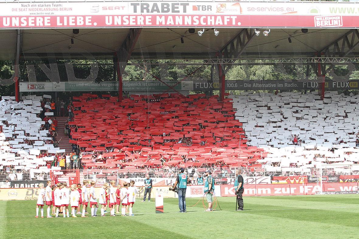 1. FC Union Berlin - FC Sankt Pauli -Fussball -  2. Bundesliga -