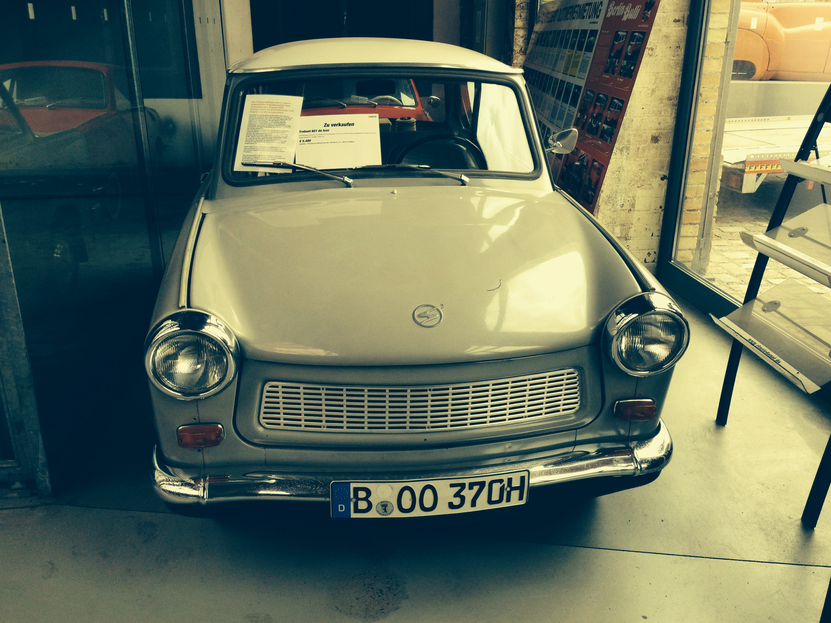 Trabant in Classic Remise Berlin