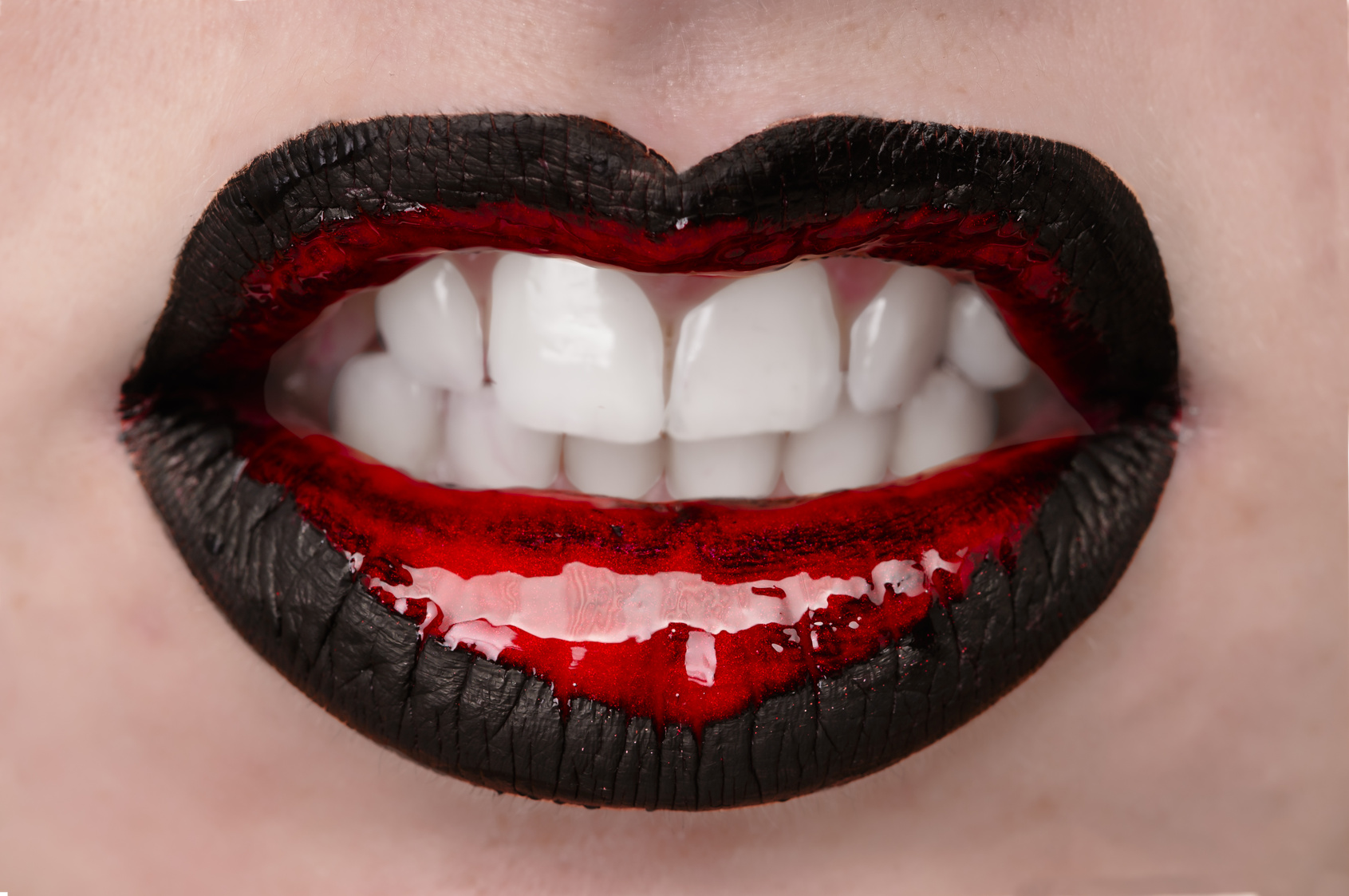 Sexy Lips Rot-Schwarz, Gruseldinner (Copyright Fotolia)