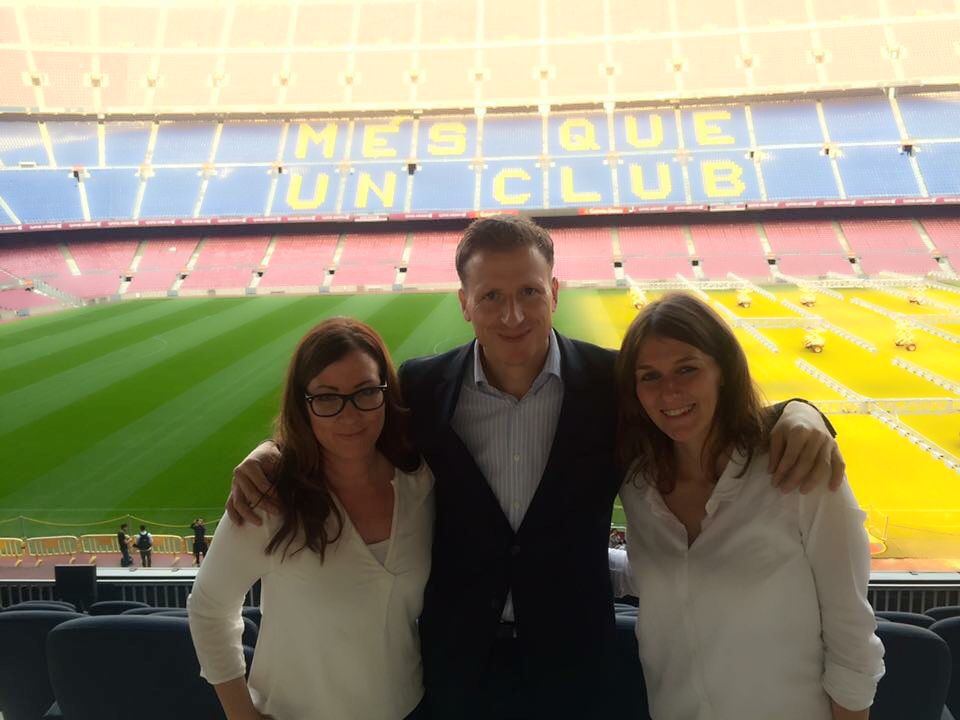 Team Sascha Heide Camp Nou Barcelona